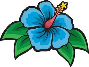 300x225 Caribbean Clipart Jungle Flower.