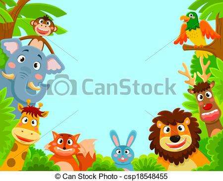 Jungle frame Clip Art Vector Graphics. 2,017 Jungle frame EPS.