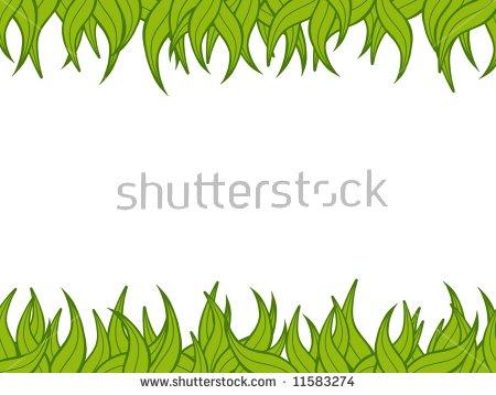 Vector Cartoon Background Jungle Frame Tropical Stock Vector.