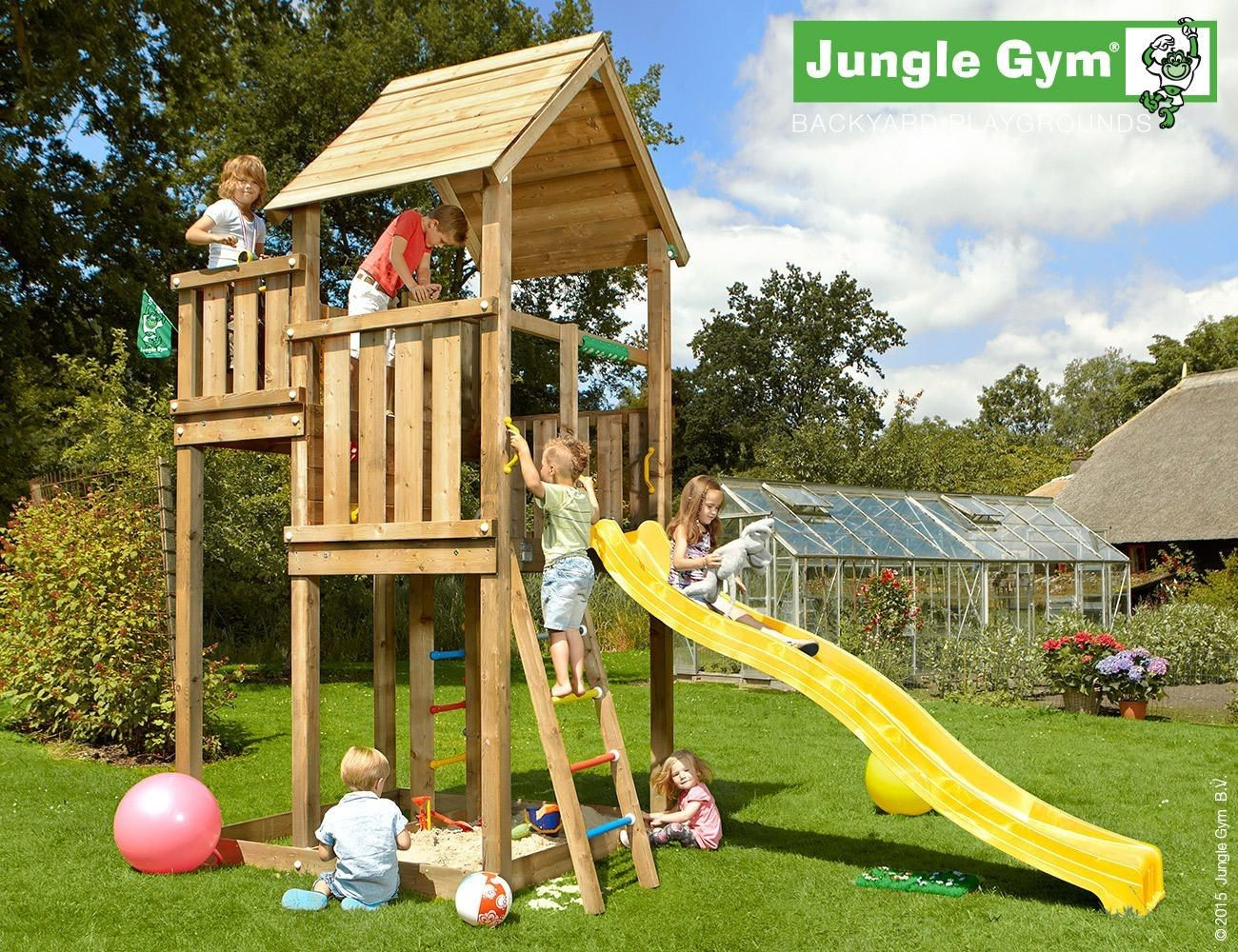 Jungle Palace Climbing Frame.