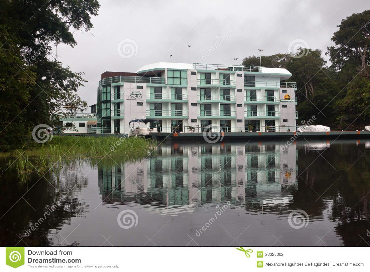 Amazon Jungle Palace Hotel Manaus Brazil Editorial Photography.