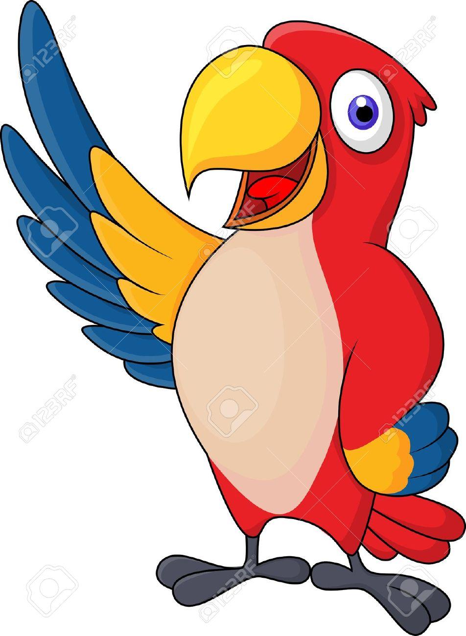 jungle parrot clipart ...