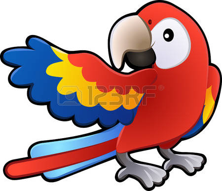 Parrot Vector Stock Illustrations, Cliparts And Royalty Free.