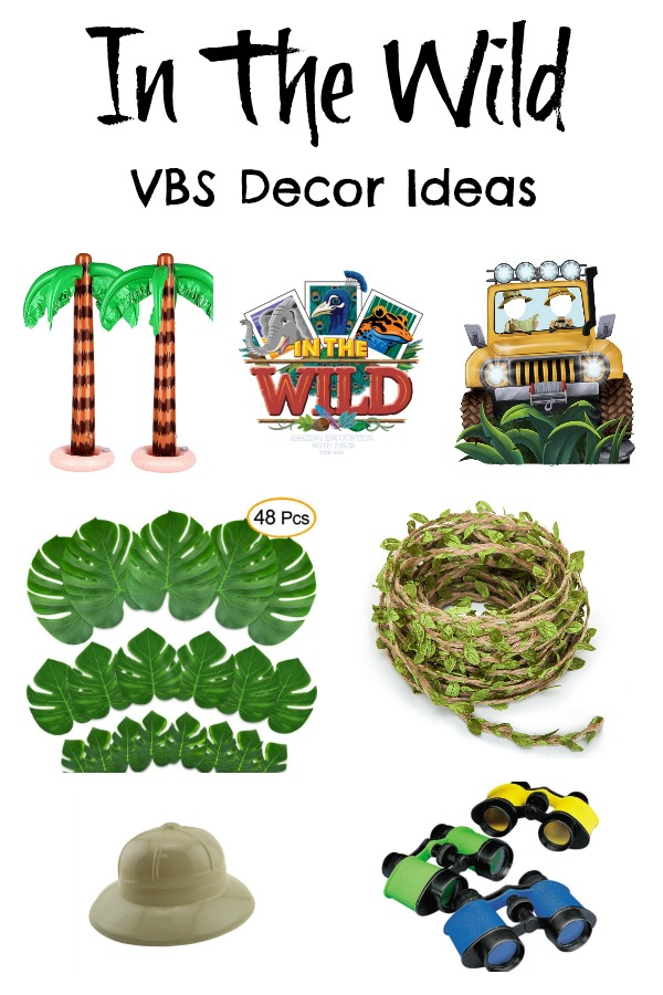 In The Wild VBS Decor Ideas.