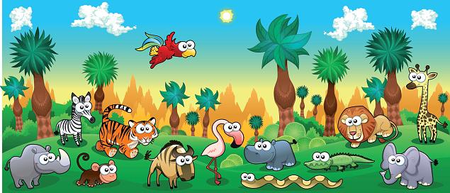 Free Jungle Scene Cliparts, Download Free Clip Art, Free.