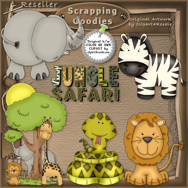 Jungle Theme Classroom Clipart 20 Free Cliparts Download