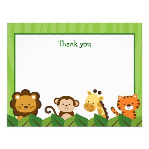 Baby Jungle Animals Clipart Set Digital Download Images, Scrapbook.
