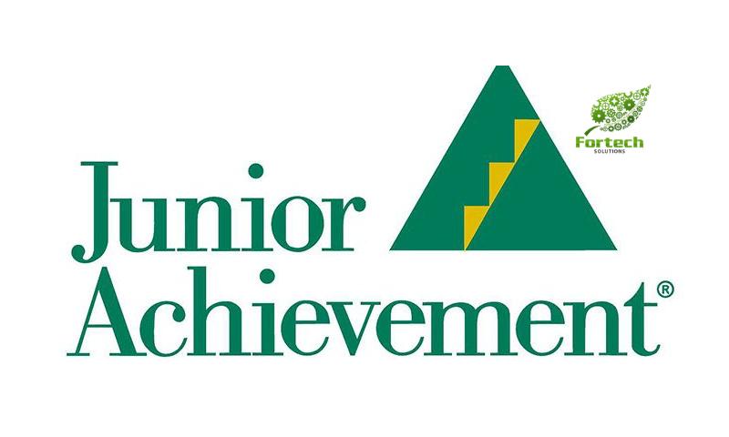 Founder Of Fortech Solutions Hosts Junior Achievement Launch Lesson.