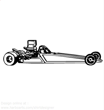 Dragster Clipart.