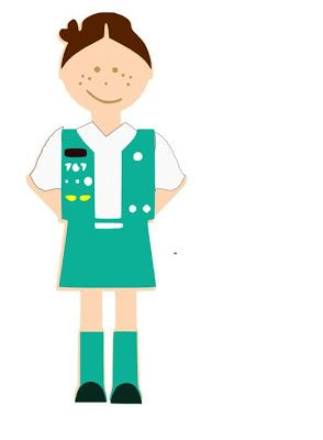 Girl scout junior clip art clipart pictures.