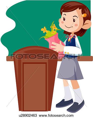 Clipart of junior high school student, adolescents, student, high.