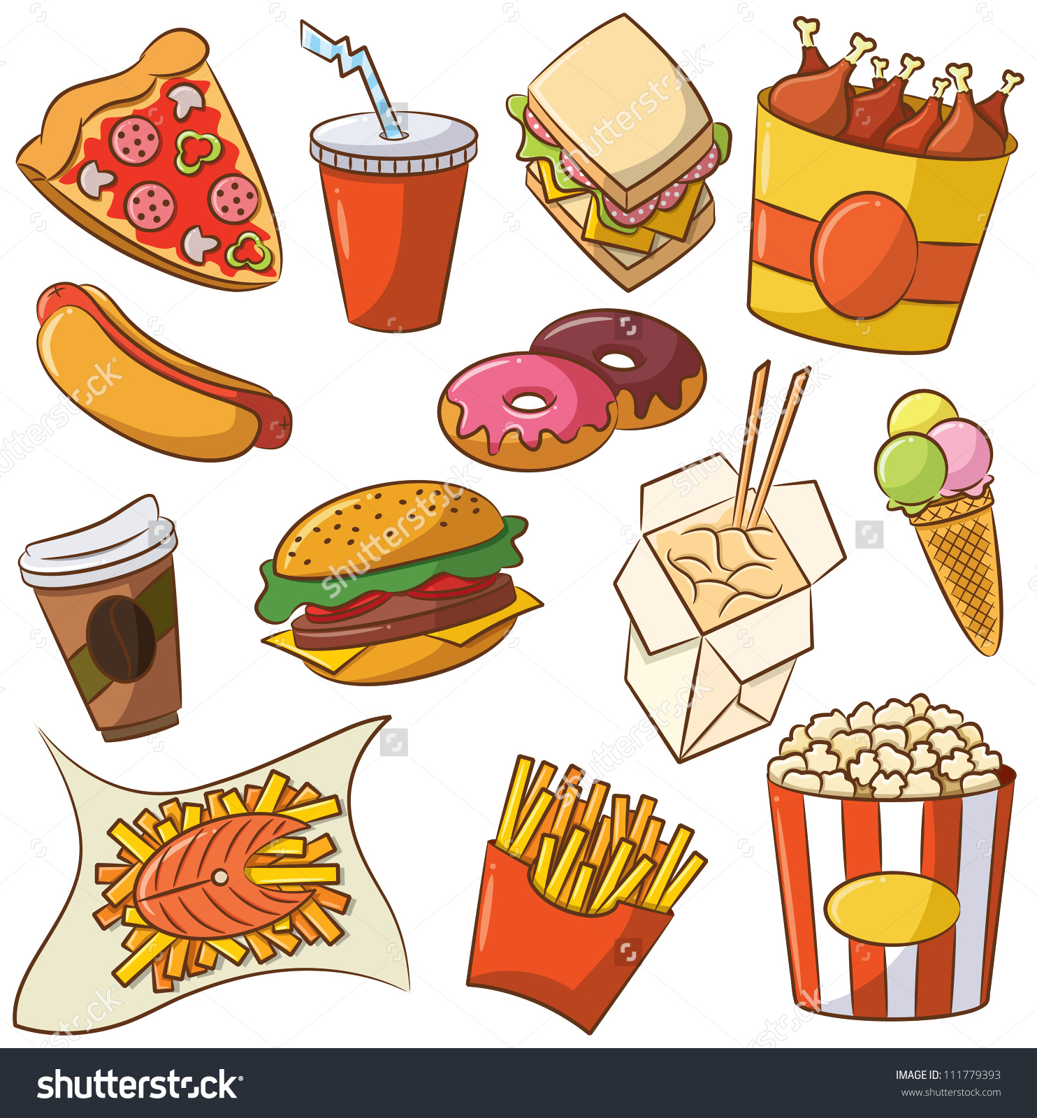 junk food clipart clipground
