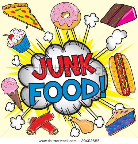 Junk Food Clipart.