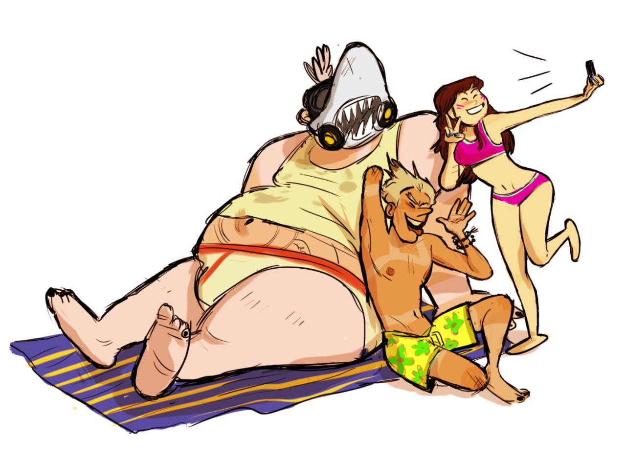 junker trio beach.
