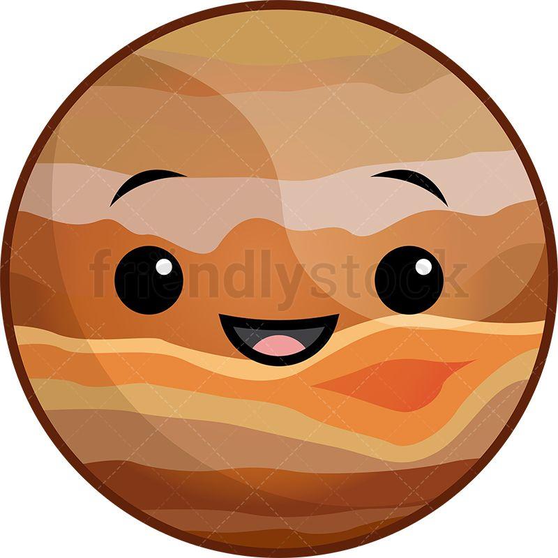 Kawaii Planet Jupiter.
