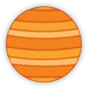 Jupiter clip art.