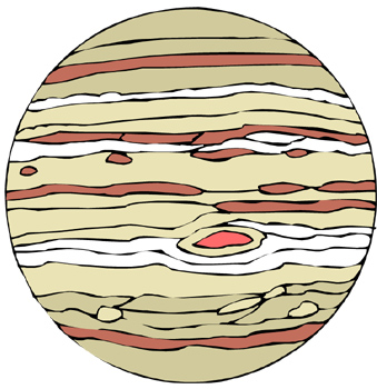 Clip Art. Jupiter Clipart. Stonetire Free Clip Art Images.