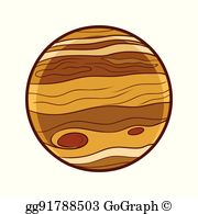 Jupiter Planet Clip Art.