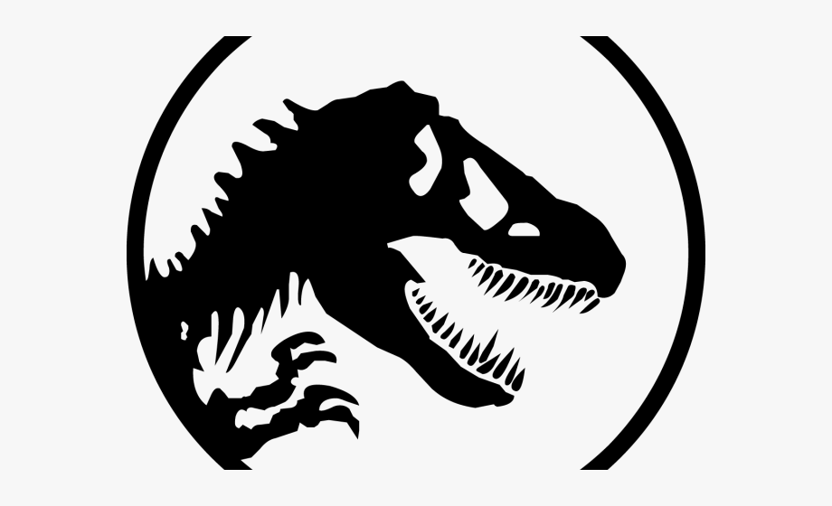 Jurassic Park Clipart Black And White.