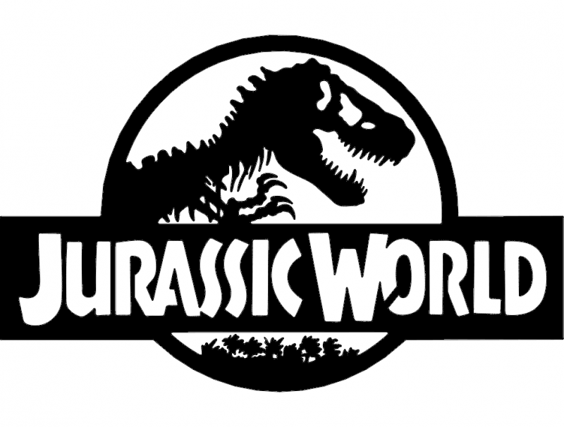 Jurassic World dxf File Free Download.