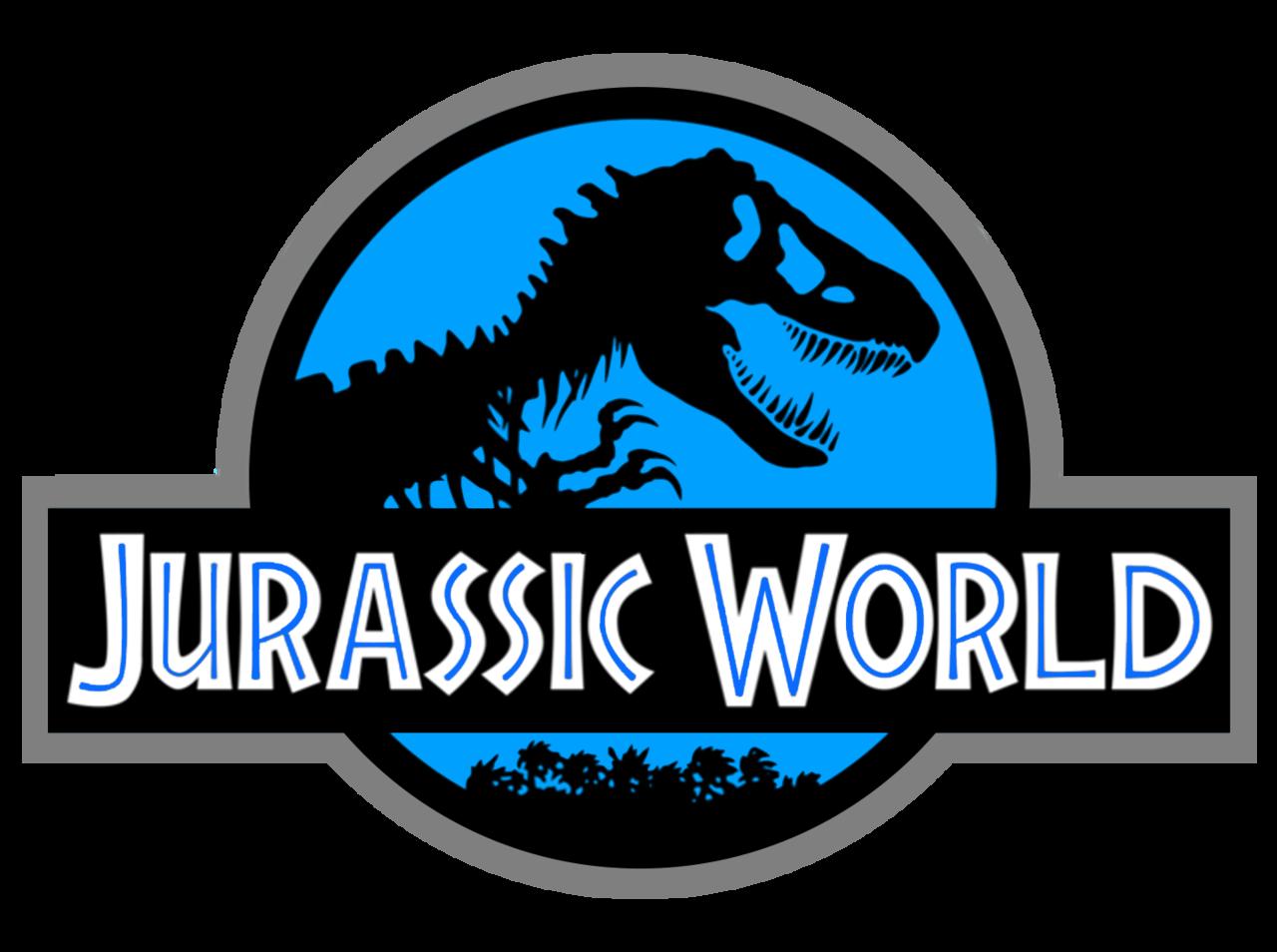 jurassic world logo vector.