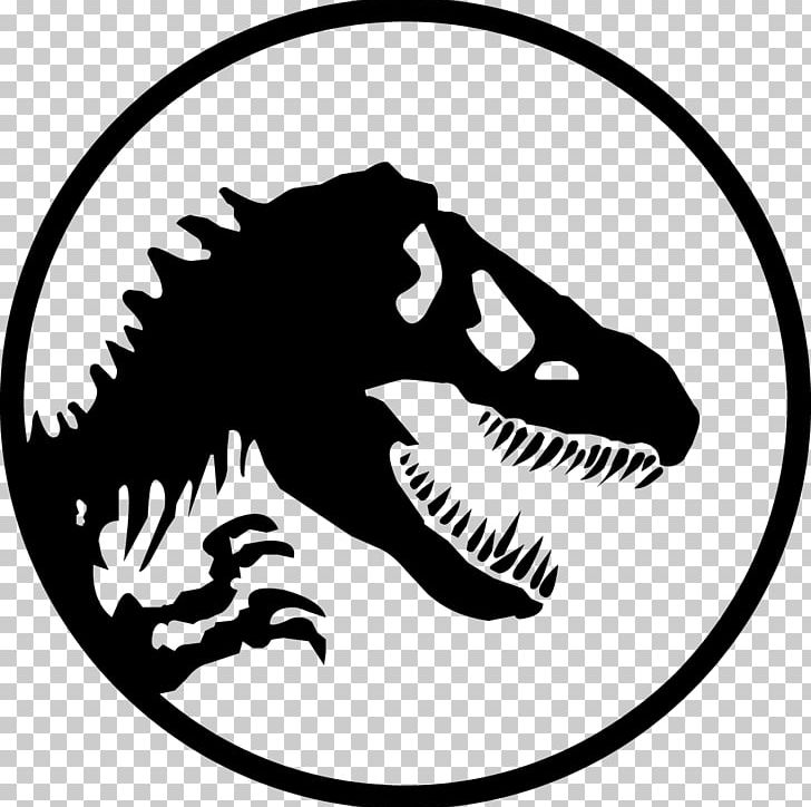 Jurassic Park YouTube Logo Stencil PNG, Clipart, Area.