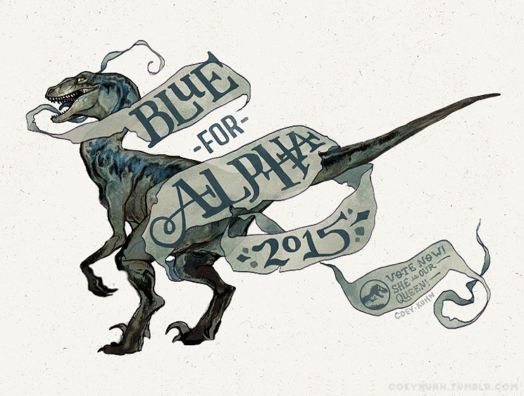 Jurassic World Raptor Clipart.