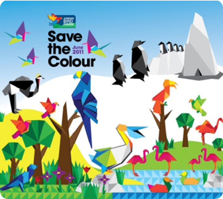 The J Babies: Save The Colour @ Jurong Bird Park.