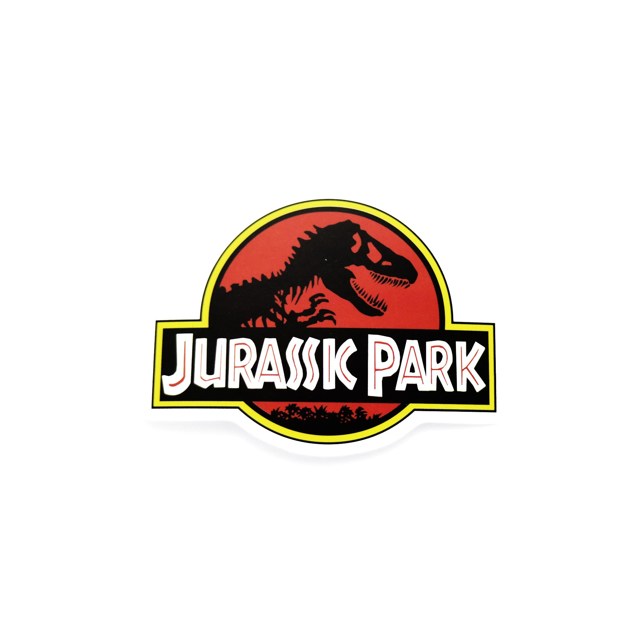 Jurassic Park Logo Matte Sticker.