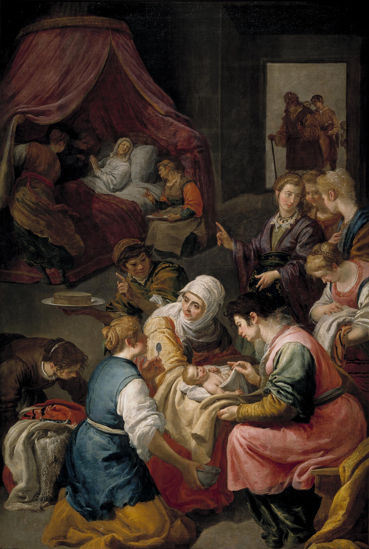 File:Nacimiento de la Virgen (Jusepe Leonardo).jpg.