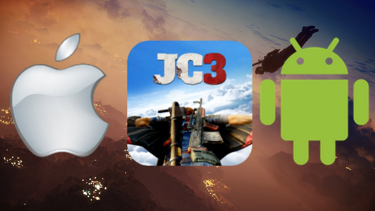 Just Cause 3 app : ios/android.