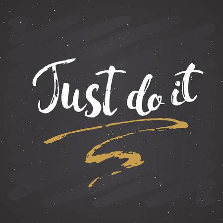 464 Just Do It Cliparts, Stock Vector And Royalty Free Just Do It.