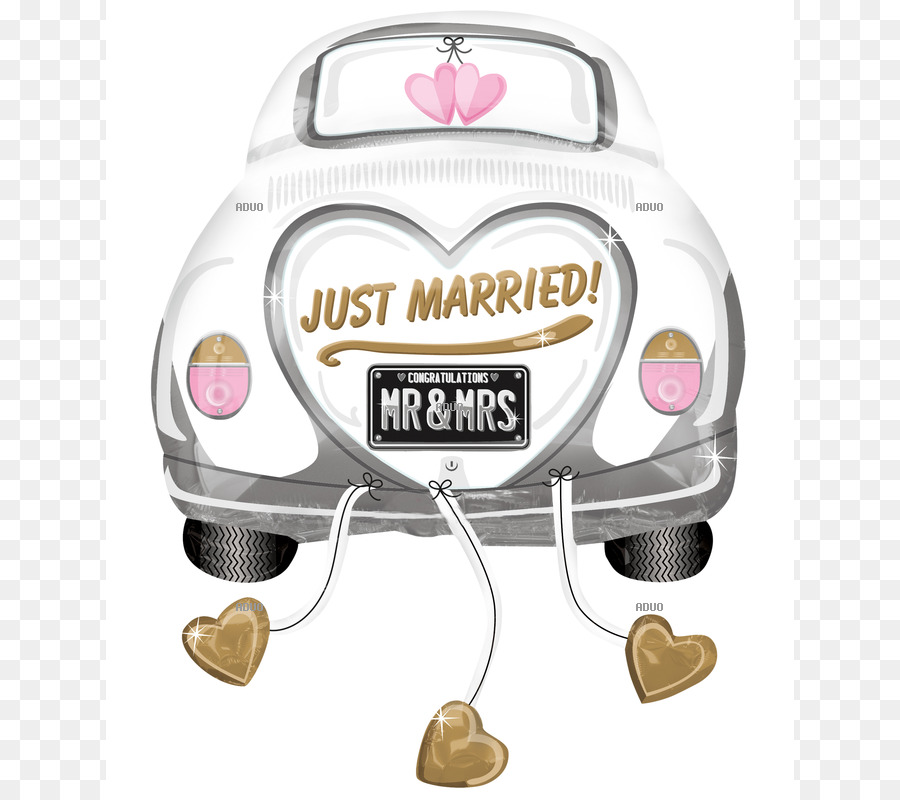 Just Married clipart.