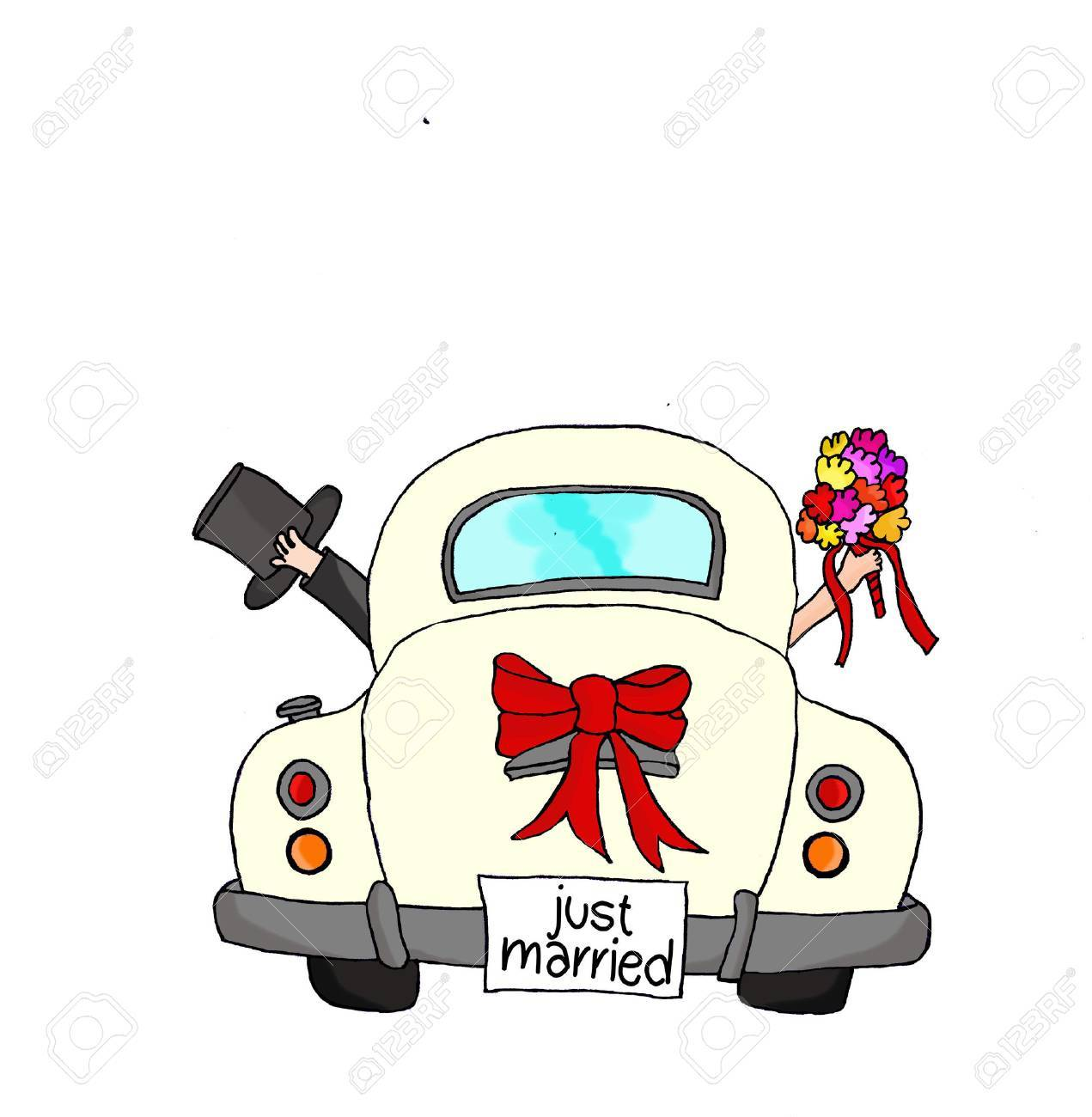 Just married auto clipart 4 » Clipart Portal.