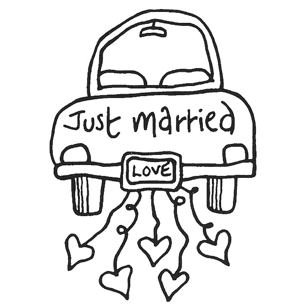 Just Married Clipart Clipground