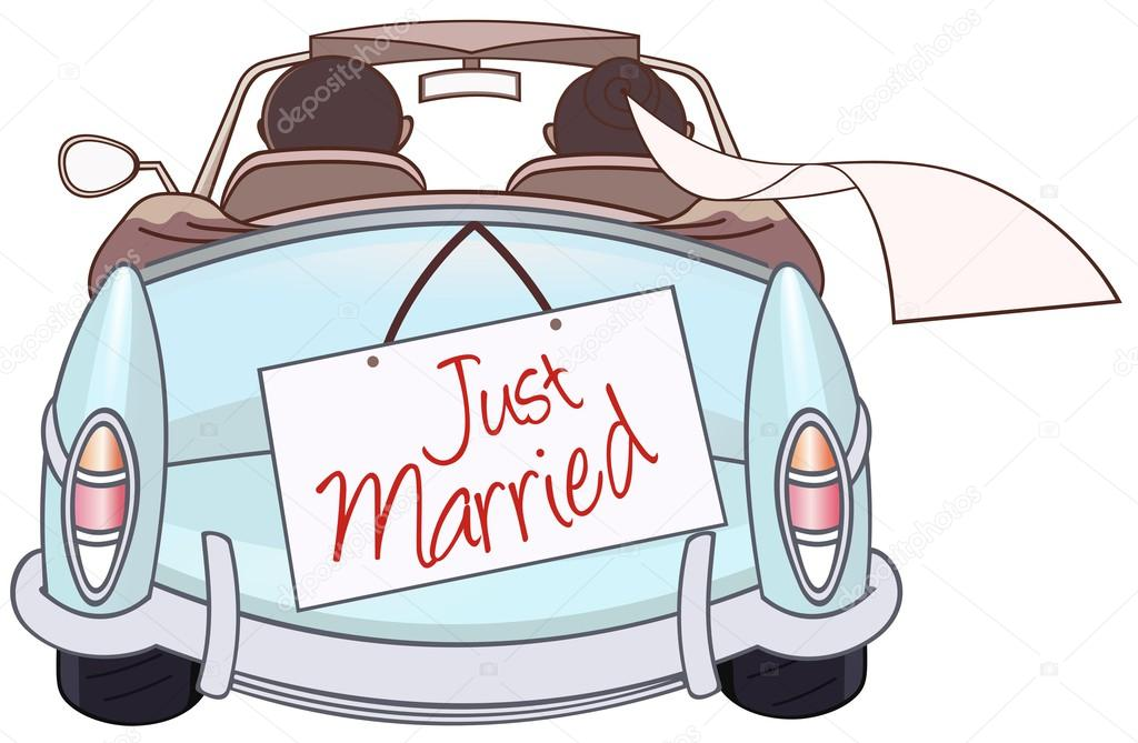 Just married auto clipart 9 » Clipart Station.