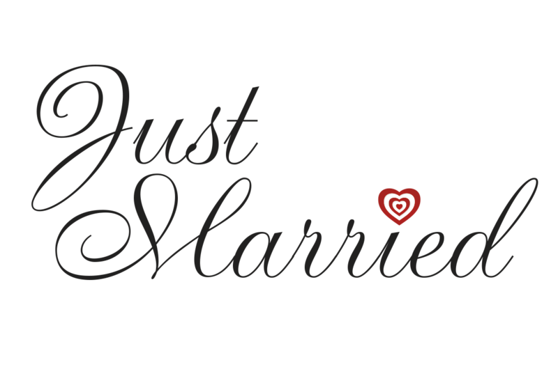 Download Free png Just Married Window Cling.