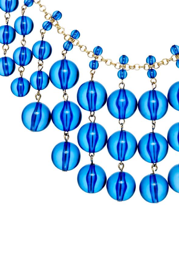 Modern Marble in Blue.