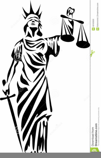 Lady Justice Clipart Free PNG.