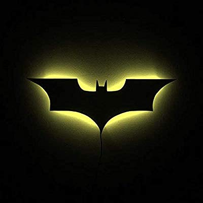 Batman Logo lamp Night Lights/Justice League LED Illuminated.