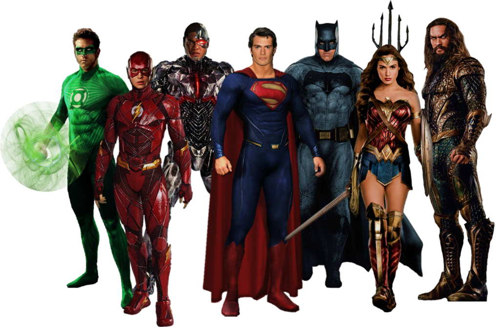Download Justice League PNG Pic 1.