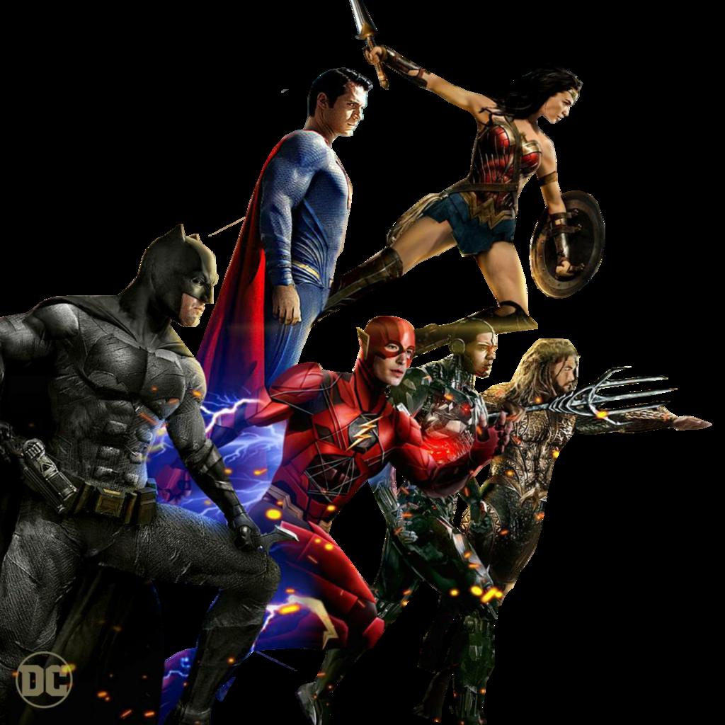 Justice League Transparent PNG.