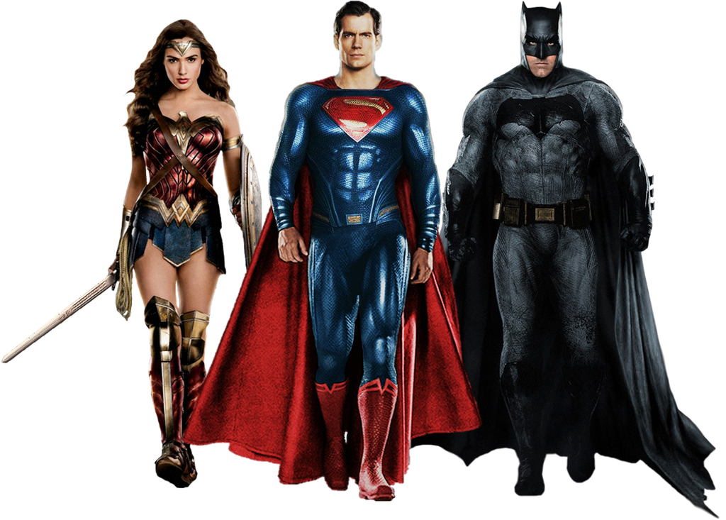 Download Free png The Trinity Justice League PNG by Gasa979 on.