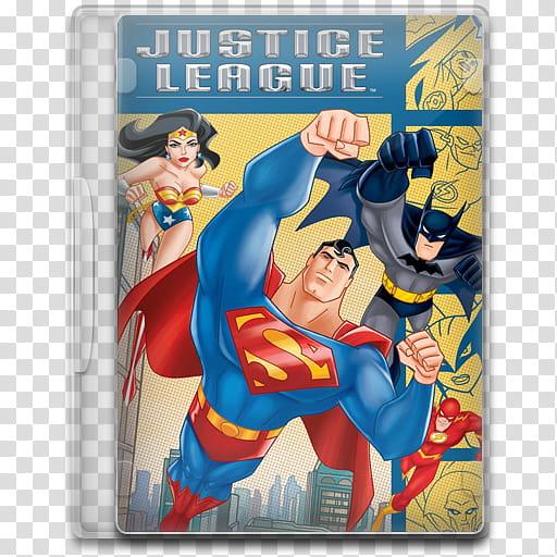TV Show Icon Mega , Justice League, Justice League poster.