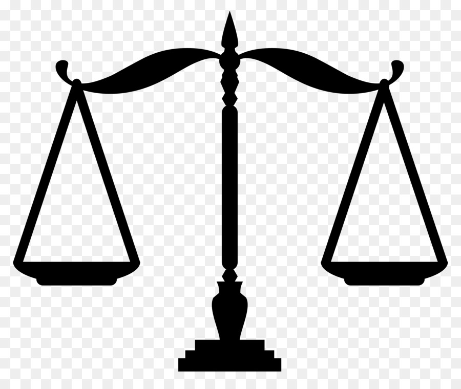 Justice Scales Clipart.