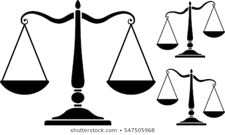 Scale Of Justice Silhouette Images Stock Photos Vectors Acceptable.