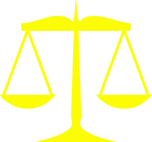 Clip Art Scales Of Justice.