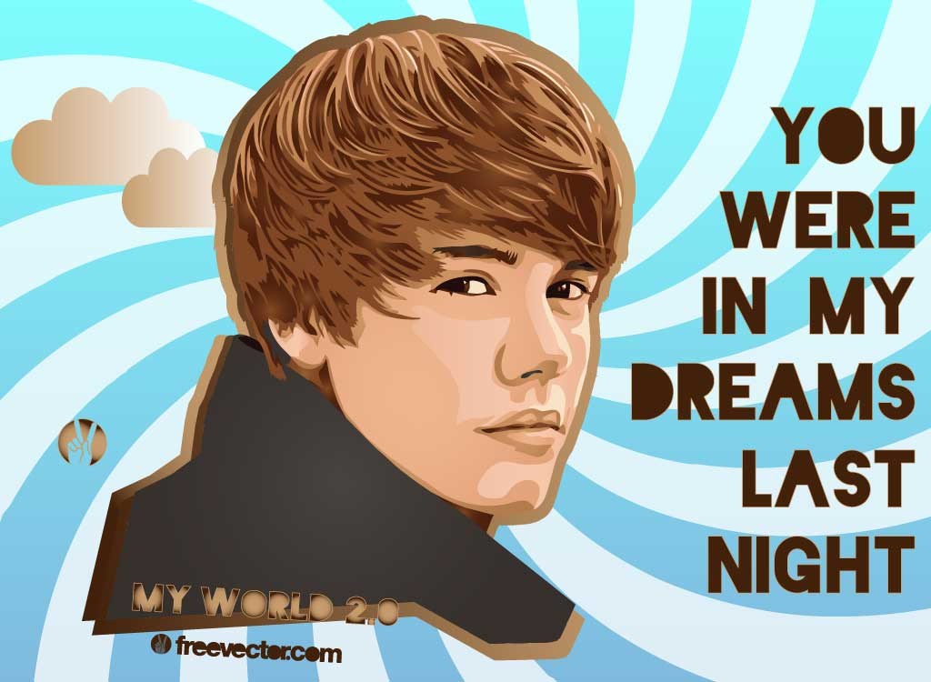 Justin Bieber Vectors.