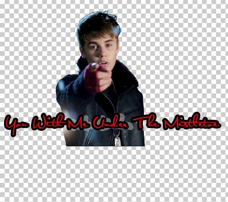 Microphone Justin Bieber Mistletoe Album Cover Font PNG.