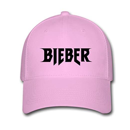 RMP Justin Bieber Purpose Tour Logo Fashion Design Baseball Caps Pink.